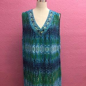 Avenue summer maxi dress